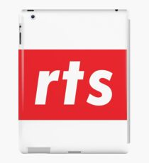 RTS Real Time Strategy Strategizing an Attack or Defend Happens in Real Time  iPad Case/Skin