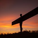 Angel of the North at Sunset by Great North Views