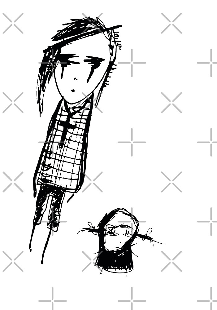Sad friends by liga-art