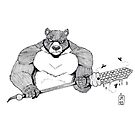 Bear warrior by Joe1983