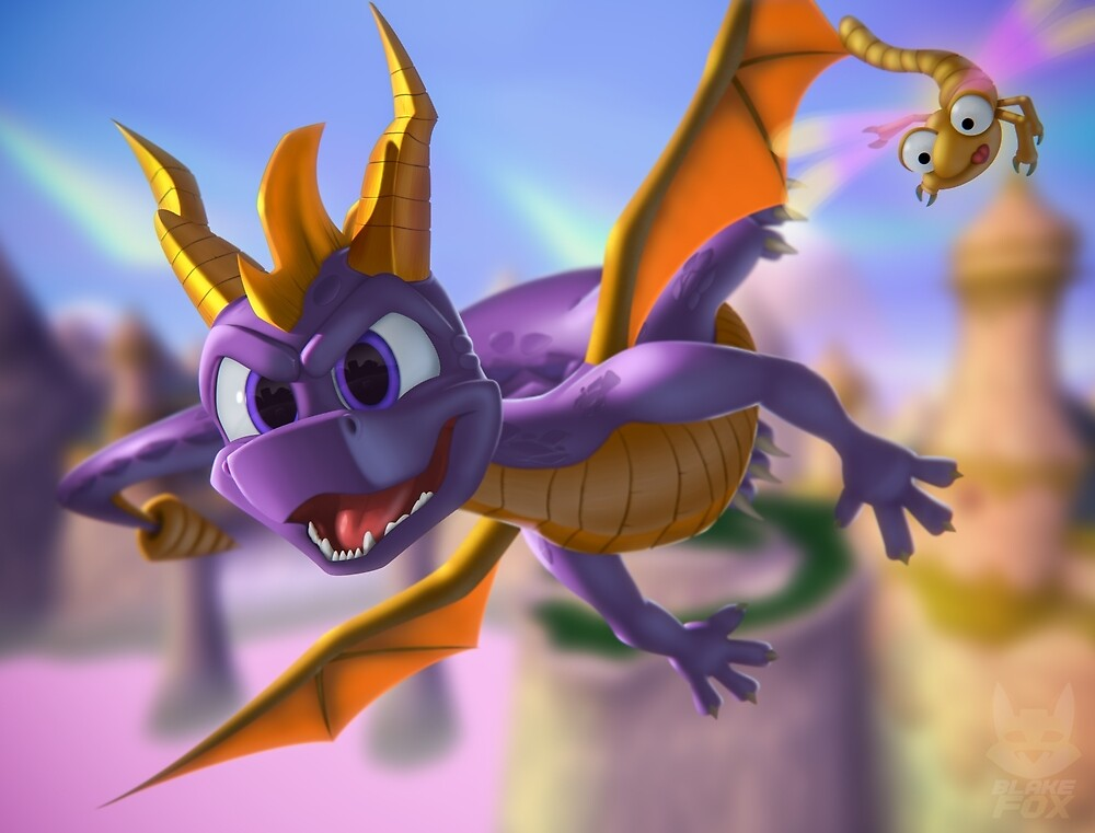 Spyro 20th by BlakeFox