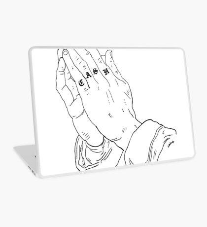praying for cash Laptop Skin