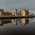 Gateshead Quayside Reflections by Great North Views