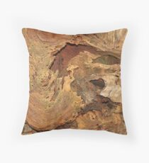 Tree Decay Throw Pillow