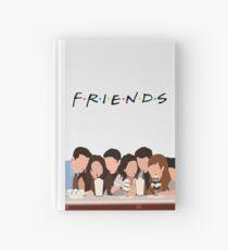 Freunde zeigen Notizbuch