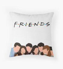 Friends Show Throw Pillow