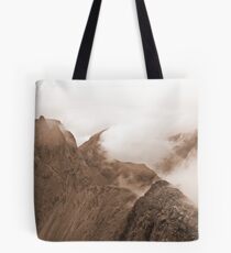 From Sgurr Mhic Choinnich Back to The Inaccessible Pinnacle, Skye Tote Bag