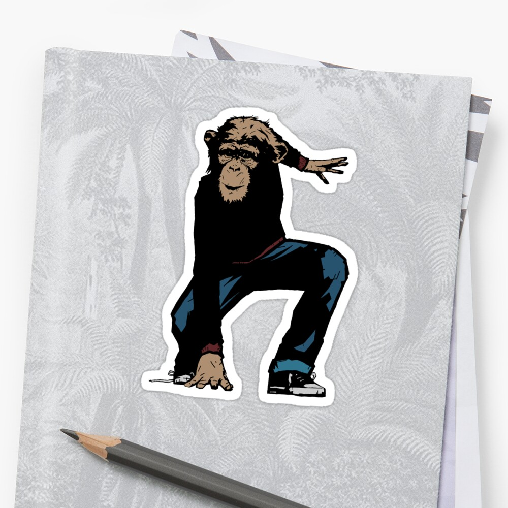 Monkey Street Fighter by matthewdunnart