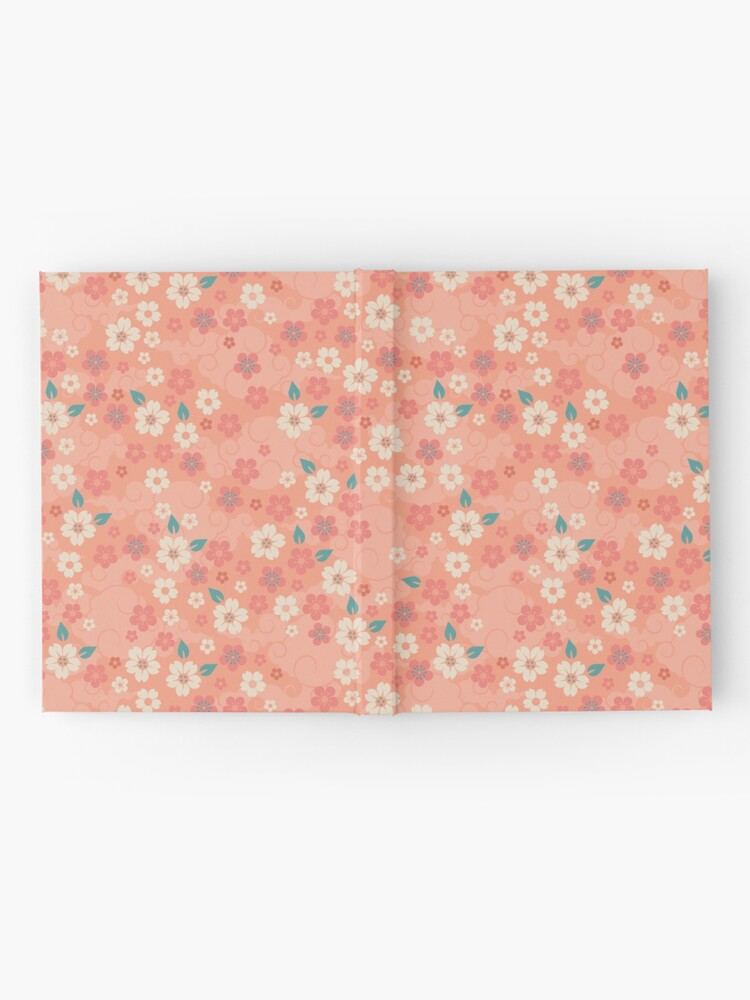 Alternate view of Cherry Blossoms in Peach Hardcover Journal