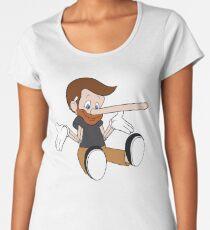 Pinocchio Style! Premium Scoop T-Shirt