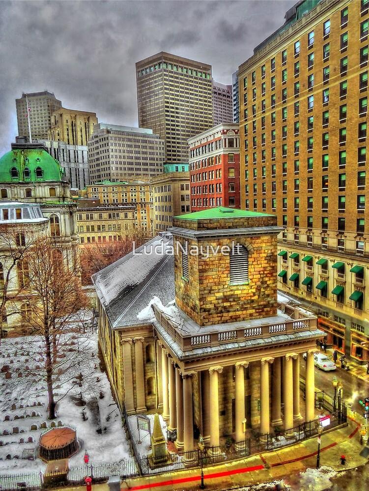 King's Chapel, Boston MA by LudaNayvelt