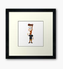 Phineas and Ferb Style! Framed Print