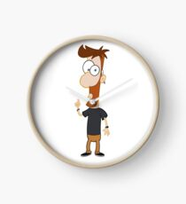 Phineas and Ferb Style! Clock