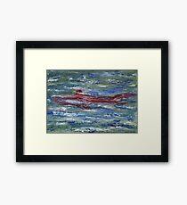 Red Shark Number Two Framed Print