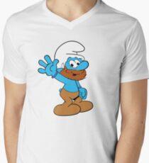 Smurfs Style! V-Neck T-Shirt