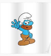 Smurfs Style! Poster