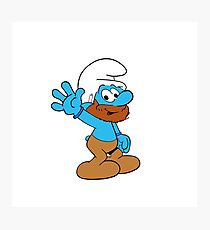 Smurfs Style! Photographic Print