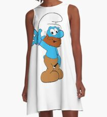 Smurfs Style! A-Line Dress