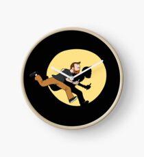 Tintin Style! Clock