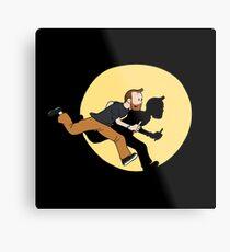 Tintin Style! Metal Print