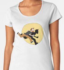 Tintin Style! Premium Scoop T-Shirt