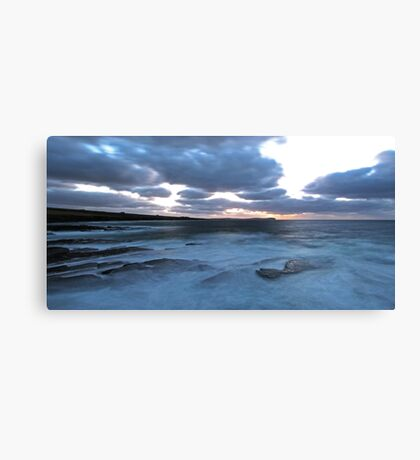Pentland Firth Evening Canvas Print