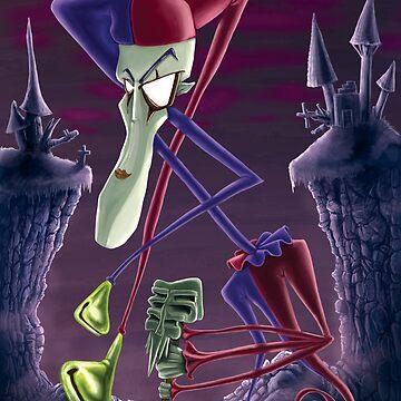 Bent Jester by trickmonkey
