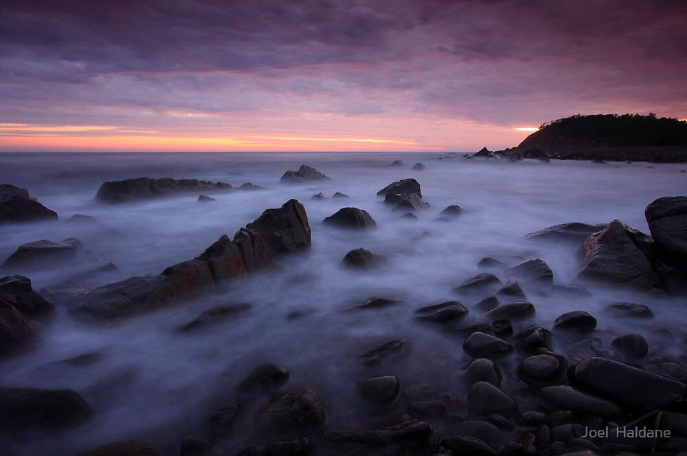 Pebbly Beach by Joel  Haldane