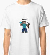 Minecraft Mining art Classic T-Shirt