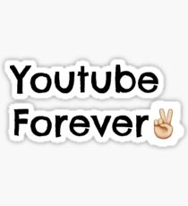 Youtube Forever  Sticker