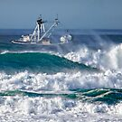Seagoing Fishing Boat by Deri Dority