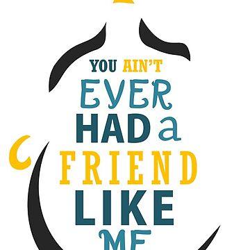 Friend Like Me by santosblanco