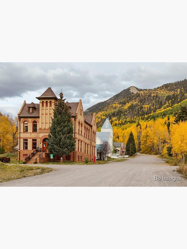Beautiful Small Town Rico Colorado by mrbo