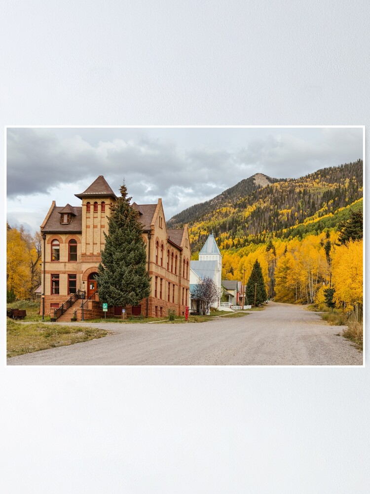 Alternate view of Beautiful Small Town Rico Colorado Poster