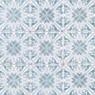 Pale Blue and White Azulejos Tiles by eyeshoot