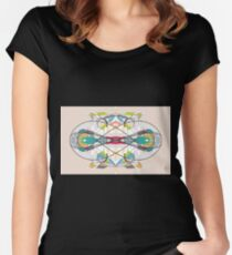 Mapping Thought Women's Fitted Scoop T-Shirt