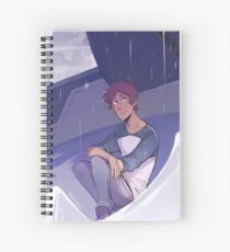 Missed the Rain Spiral Notebook