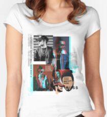 Russ Rapper Fan Art & Merch Women's Fitted Scoop T-Shirt