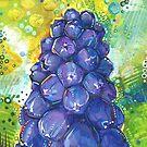 « Peinture de jacinthes de raisin - 2018 » par Gwenn Seemel
