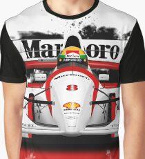 Formula 1 - McLaren MP4/8 - Ayrton Senna Graphic T-Shirt