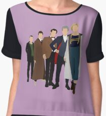 Doctor Who - All Five Modern Doctors - New Costume! (DW Inspired) - 13th Doctor Chiffon Top