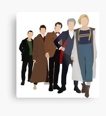 Doctor Who - All Five Modern Doctors - New Costume! (DW Inspired) - 13th Doctor Metal Print