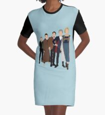 Doctor Who - All Five Modern Doctors - New Costume! (DW Inspired) - 13th Doctor Graphic T-Shirt Dress