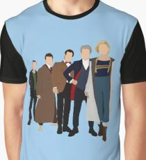 Doctor Who - All Five Modern Doctors - New Costume! (DW Inspired) - 13th Doctor Graphic T-Shirt
