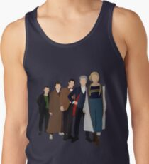 Doctor Who - All Five Modern Doctors - New Costume! (DW Inspired) - 13th Doctor Tank Top