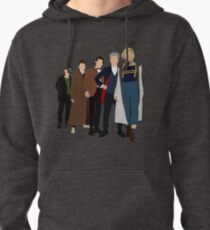 Doctor Who - All Five Modern Doctors - New Costume! (DW Inspired) - 13th Doctor Pullover Hoodie