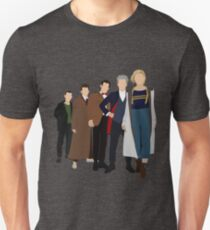 Doctor Who - All Five Modern Doctors - New Costume! (DW Inspired) - 13th Doctor Unisex T-Shirt