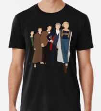 Doctor Who - All Five Modern Doctors - New Costume! (DW Inspired) - 13th Doctor Men's Premium T-Shirt