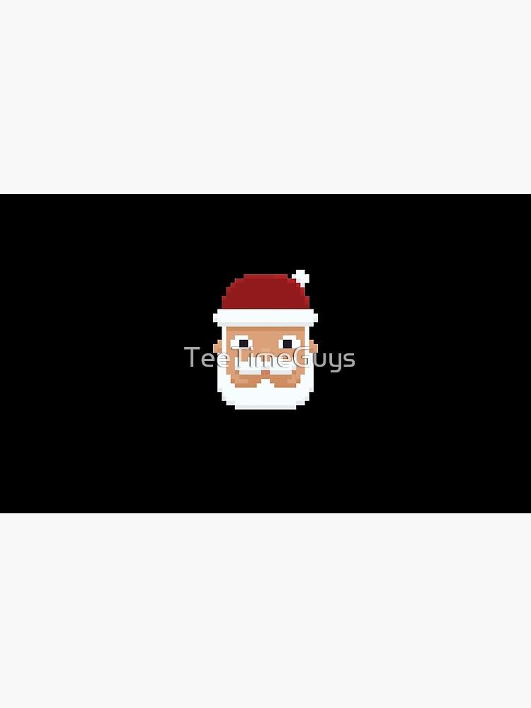 8-Bit Weihnachtsmann V5 von TeeTimeGuys