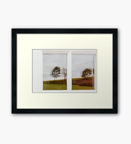 Autumn Perspectives Framed Print